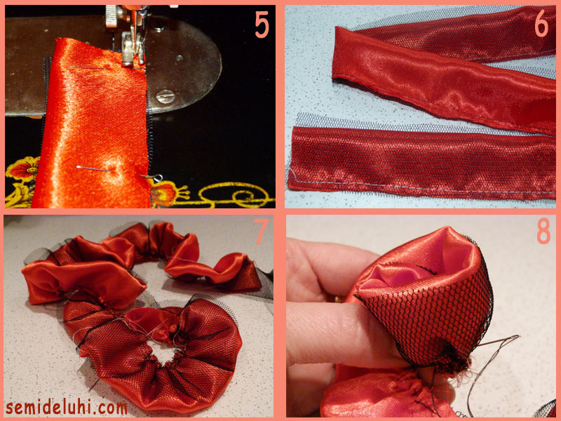 Как сделать цветок из ткани-4.4