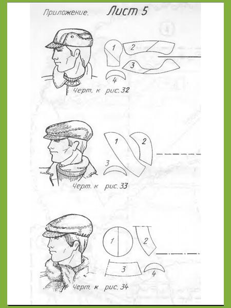 Как сшить кепку своими руками для мужчин 3