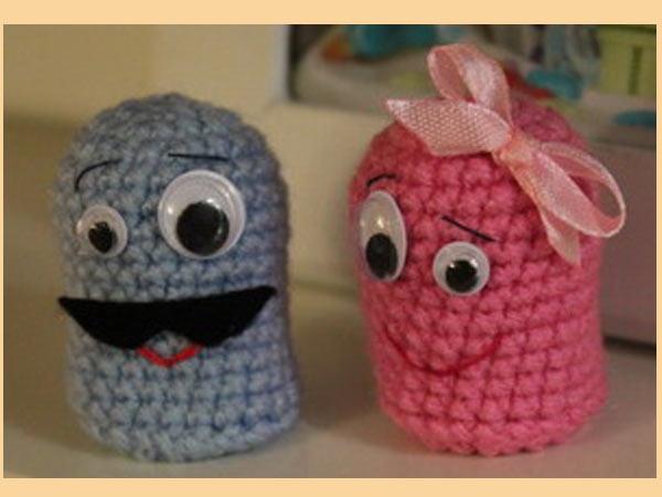 Амигуруми-маленькие вязанные игрушки