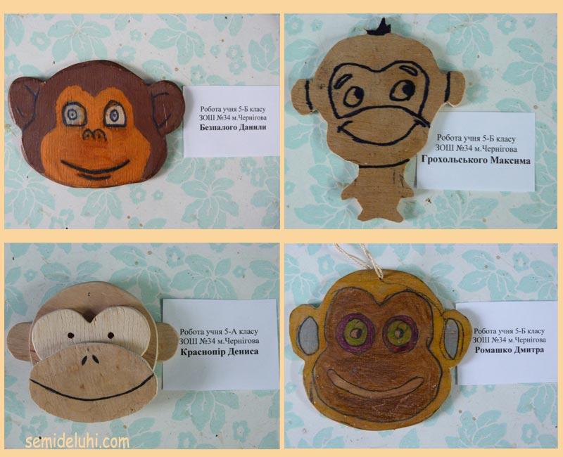 Магнитики обезьянки
