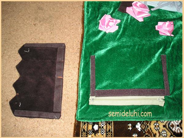Карман для книг из ткани