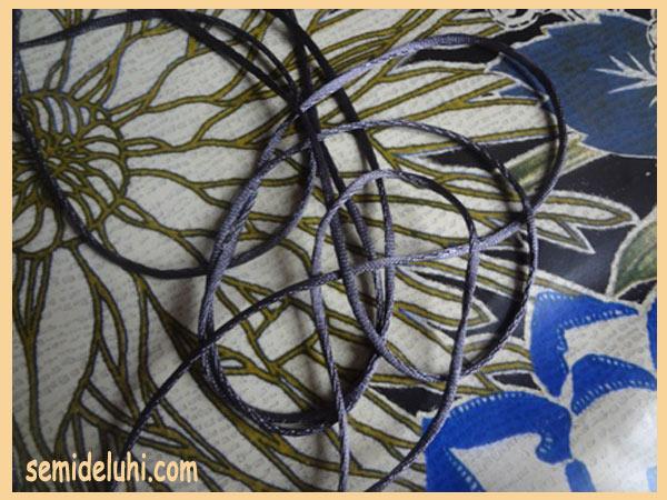 Шнур для плетения крючком
