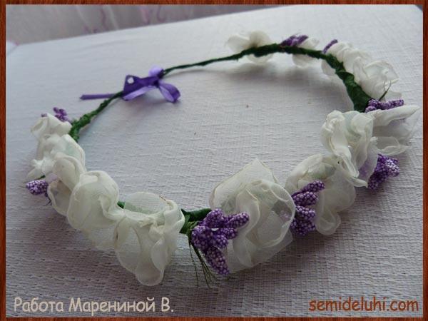 Сувениры из ткани на голову